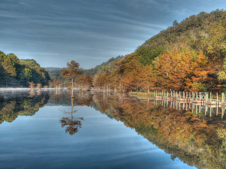 Oklahoma: Take in the serenity of Beavers Bend State Park