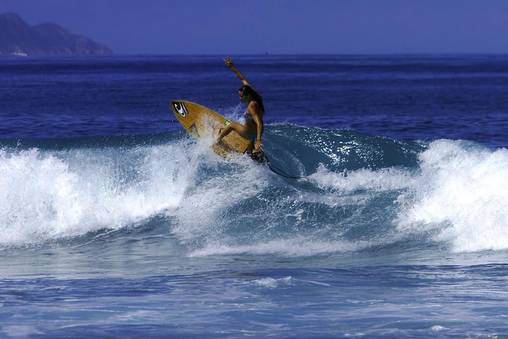 Surfing in Rincón
