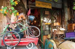 Le marché aux puces de Jaffa - Shouk HaPishpeshim