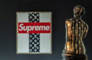 Zevs: Lous Vuitton x Supreme