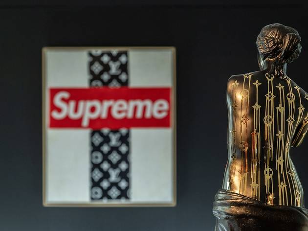 Zevs: Lous Vuitton x Supreme