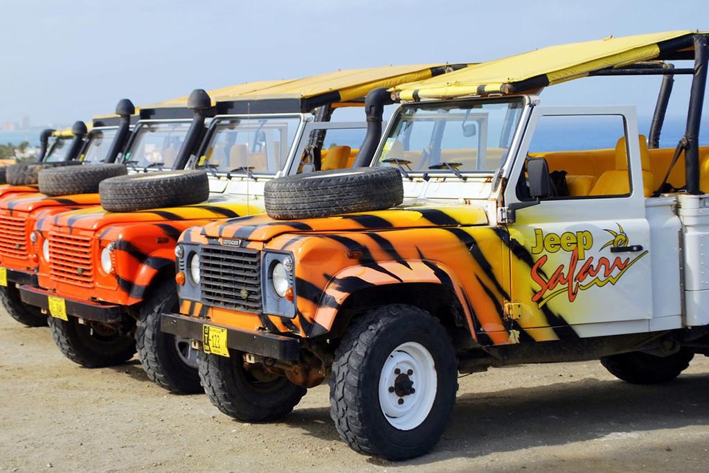 ABC Aruba rugged jeep tour