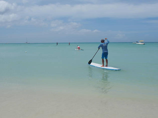 Aruba Surf & Paddle SUP lessons