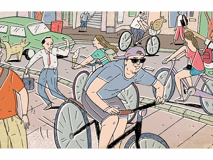 How to cycle like a Tokyoite