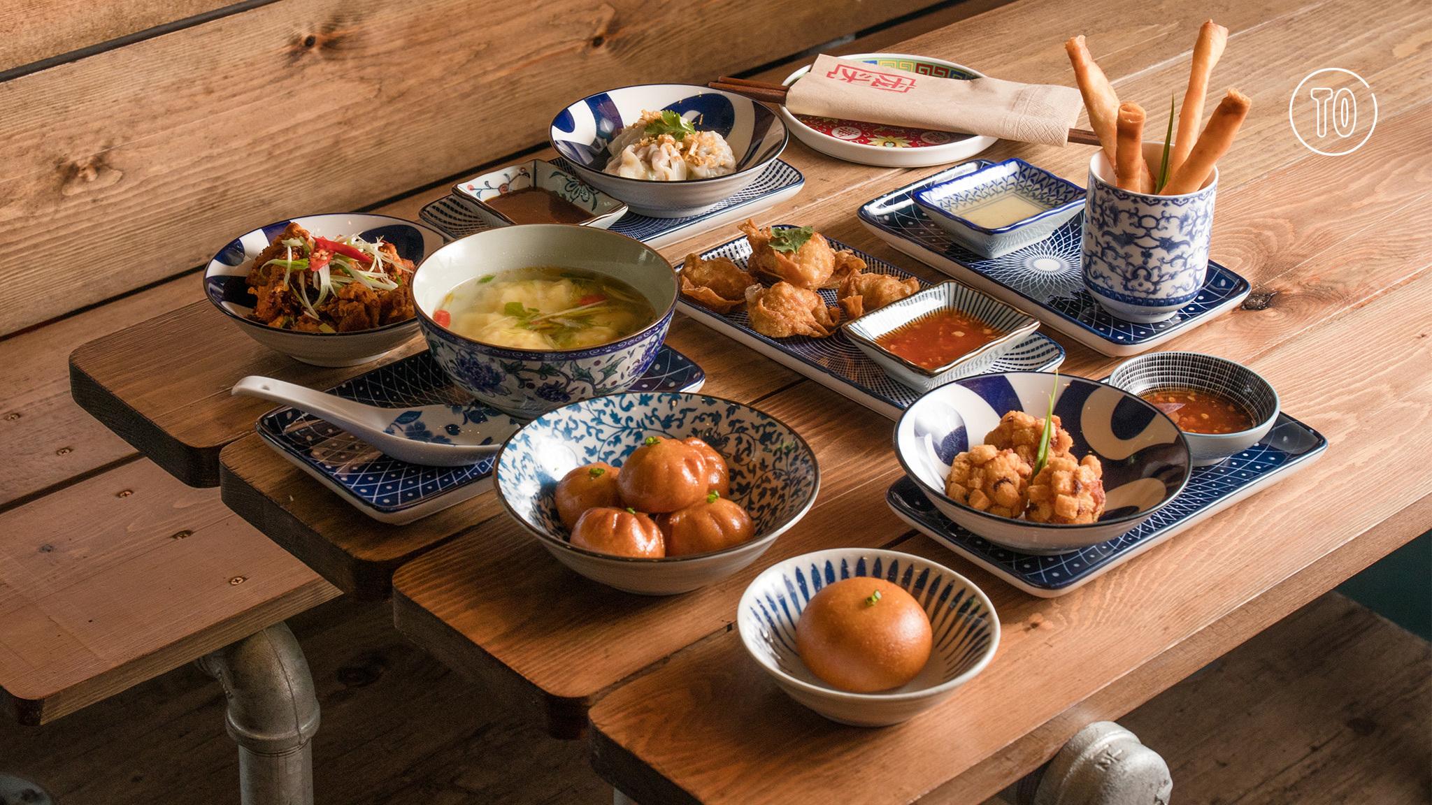 Lhong Tou, Chinese food