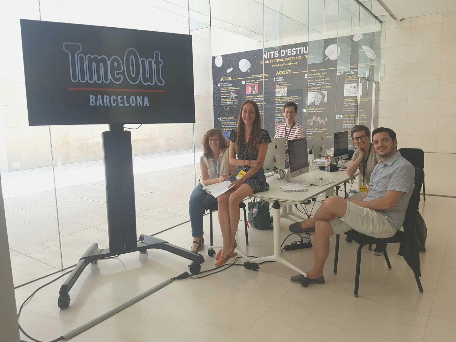 La redacció de Time Out ens instal·lem a CaixaForum