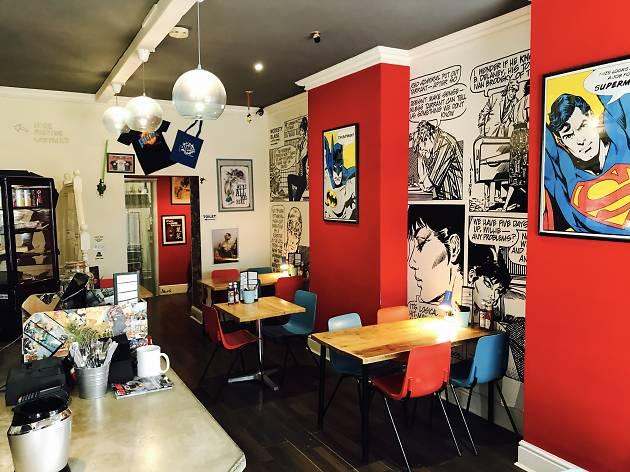 Piecaramba! cafe, Southampton