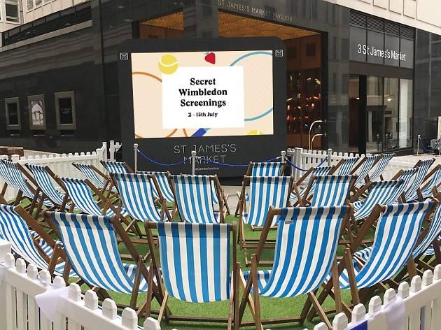 Wimbledon new image, St James's Market campaign