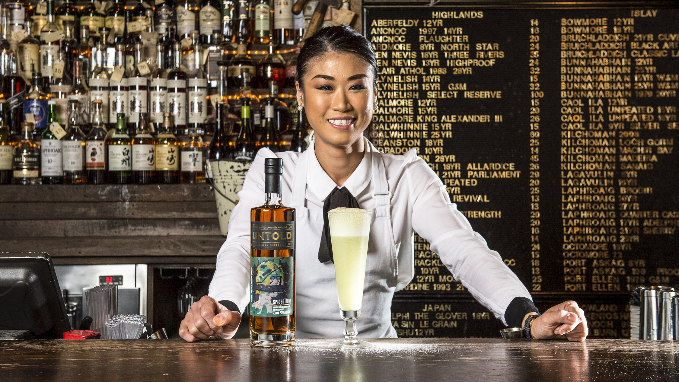 Commercial - Untold Rum - Priscilla Leong, The Baxter Inn
