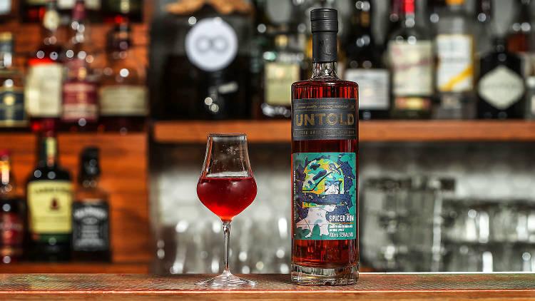 Commercial - Untold Rum - Black Pearl Cocktail