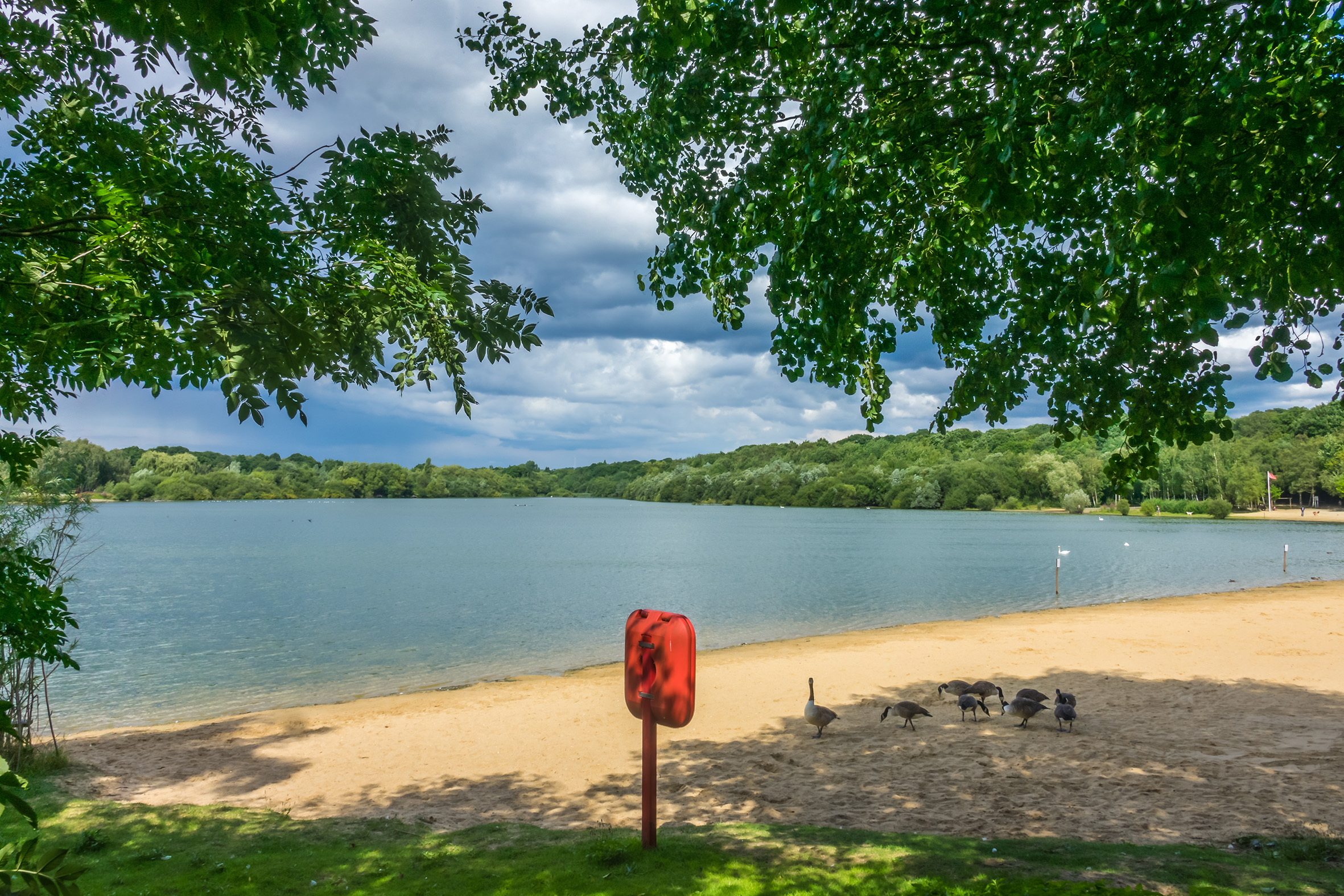 Ruislip Lido Lake, London