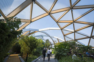 The Crossrail Place Roof Garden