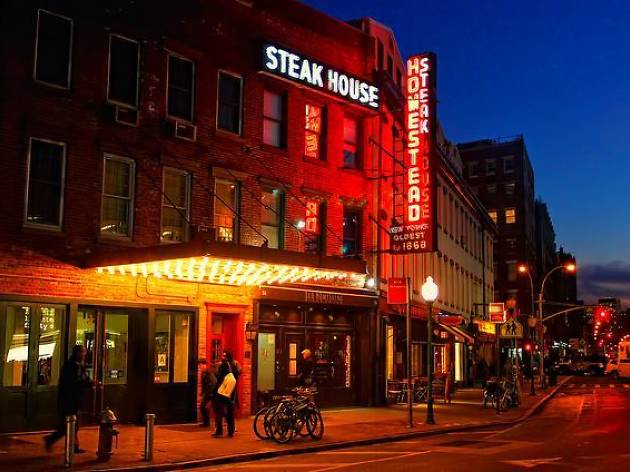 Old Homestead Steakhouse Restaurants In Chelsea New York