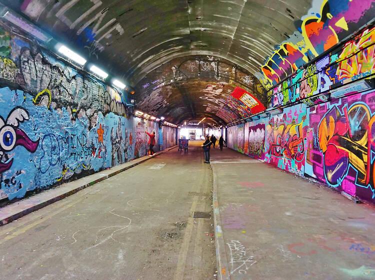 Leave your mark on London's longest graffiti wall