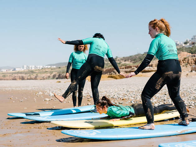 We spent a week with the surf camp that's getting female Londoners in the sea