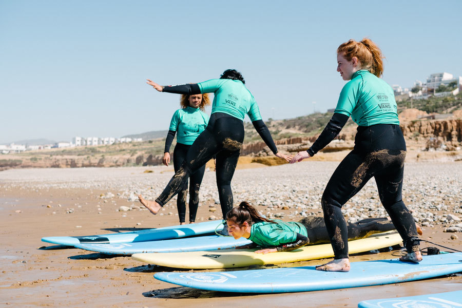This surf camp is getting female Londoners in the sea