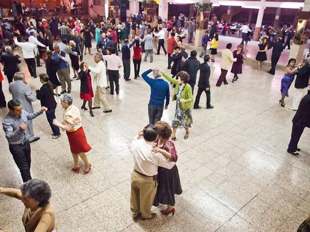 Salón de baile California Dancing Club vida nocturna