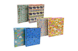 Jot Printed Three-Ring Binders