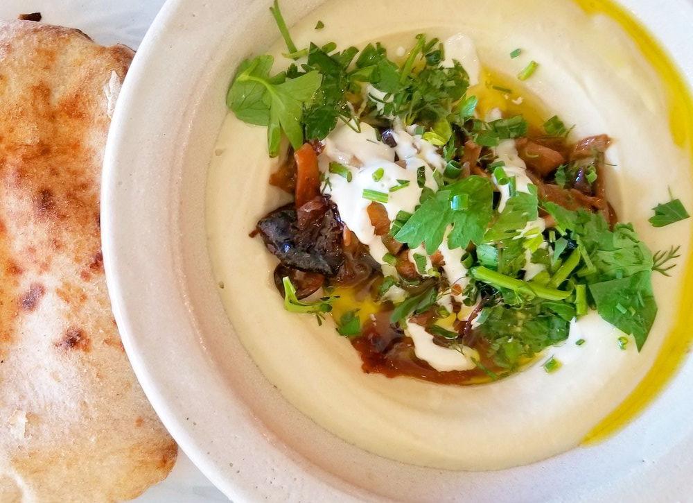 Hummus at Hasiba