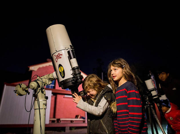 Stargazing at Rouse Hill House and Farm