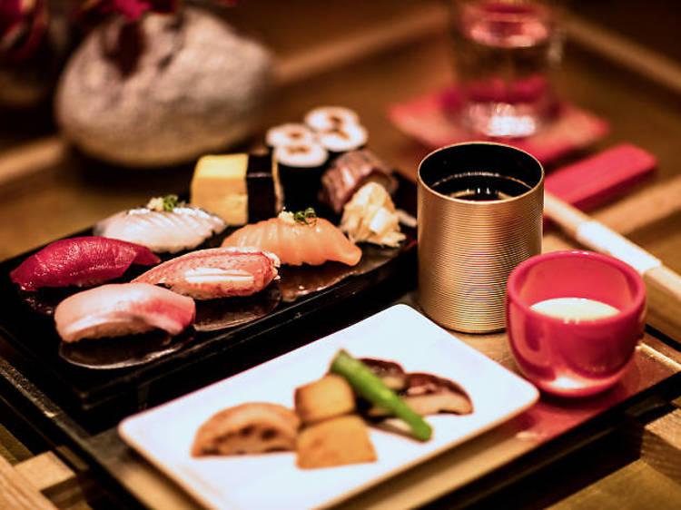 Dinner at Mizumi