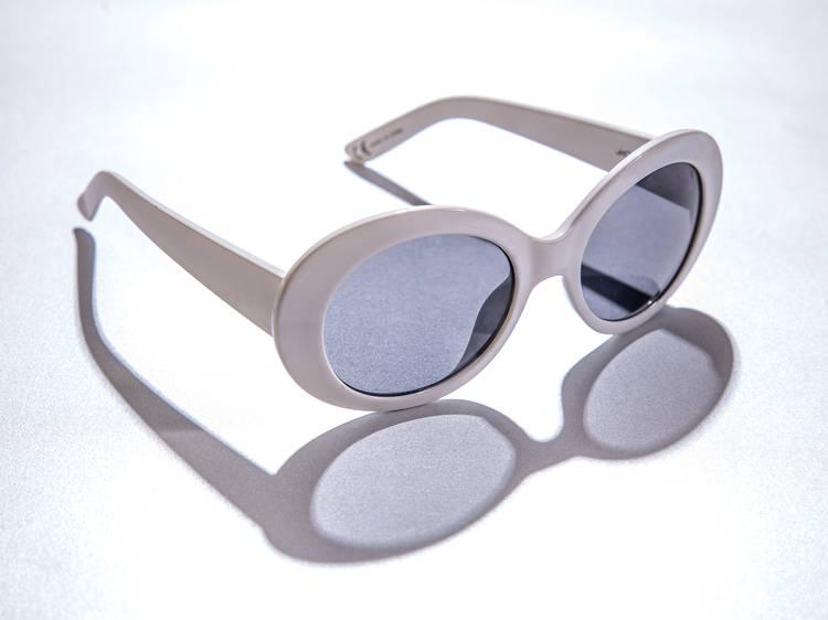 Monki oval lens sunglasses