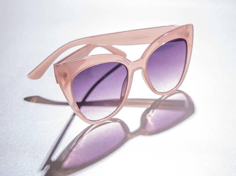 Zara resin cat eye sunglasses