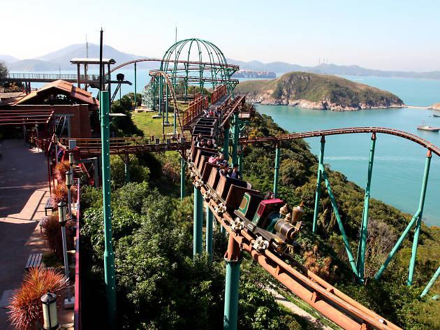 Mine Train Ocean Park
