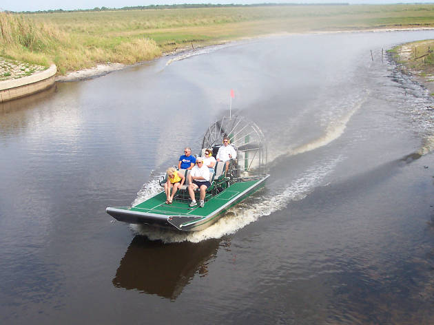 Airboat Rides - Cocoa Beach - United States