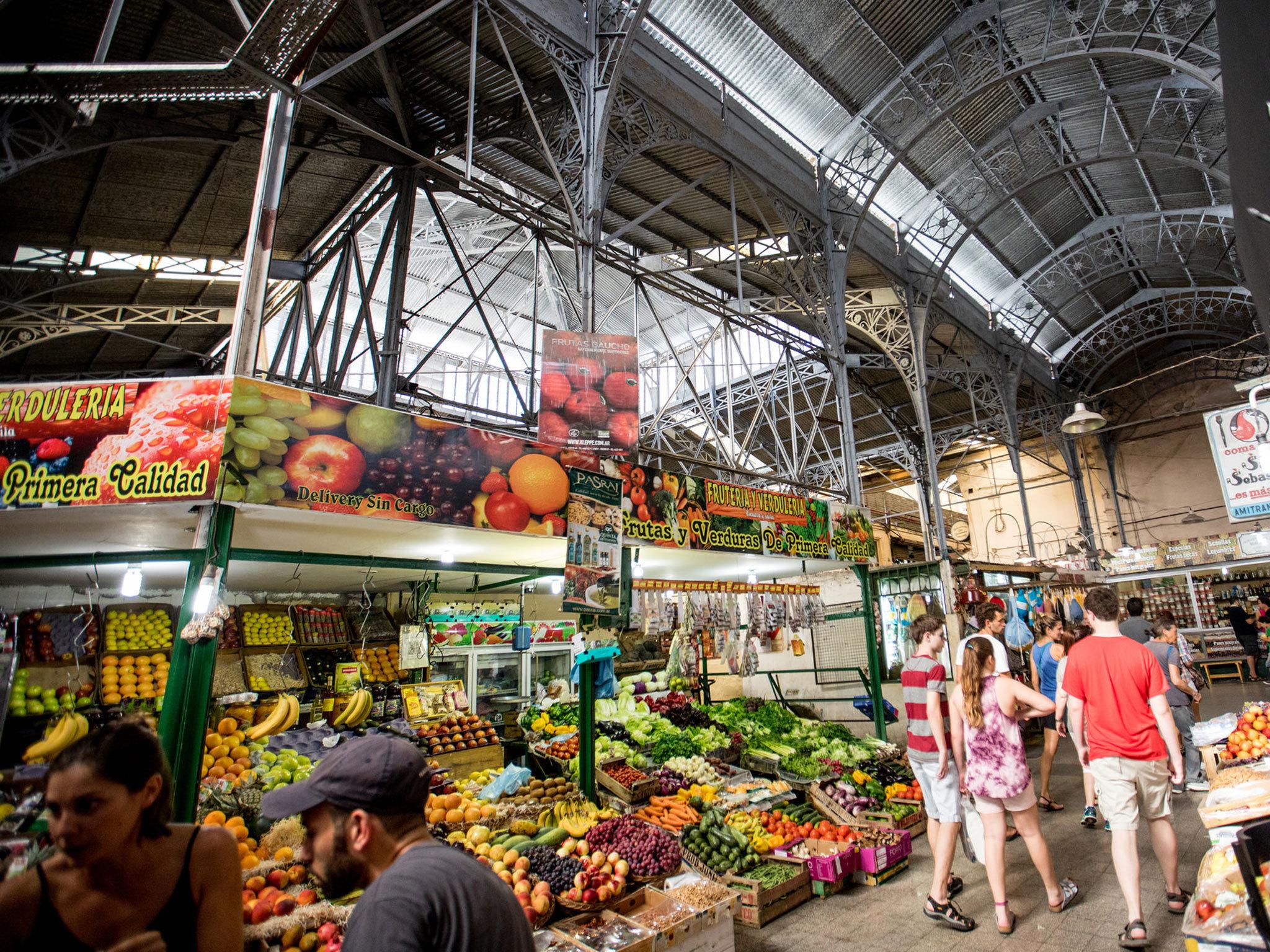 Mercado de San Telmo - Buenos Aires - Argentina