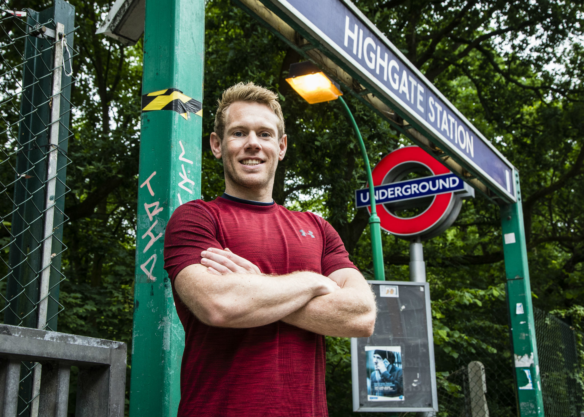 This Londoner ran the entire length of the tube network