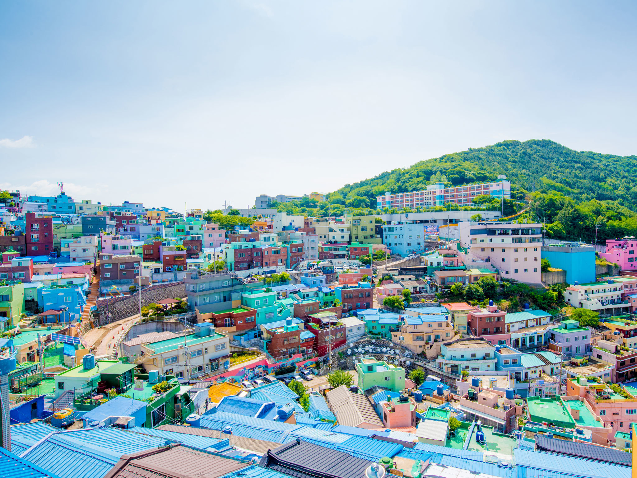 Gamcheon Culture Village - Busan - South Korea