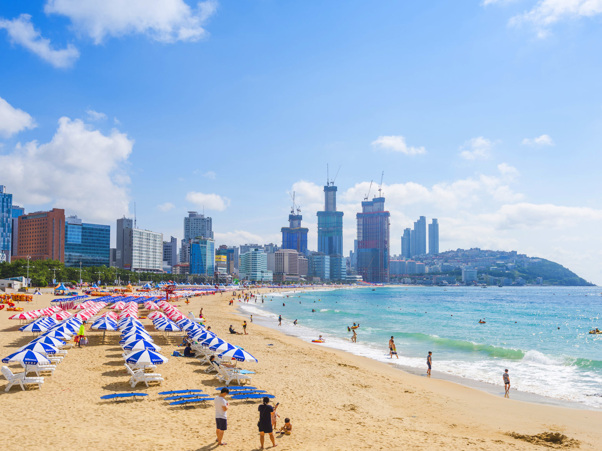 Haeundae Beach - Busan - South Korea