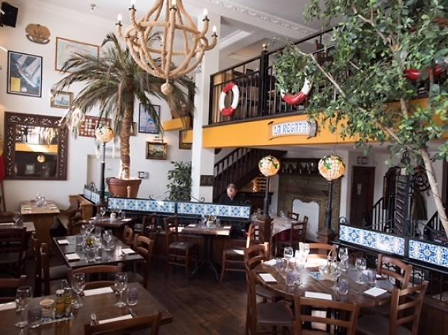 La Regata restaurant, Southampton