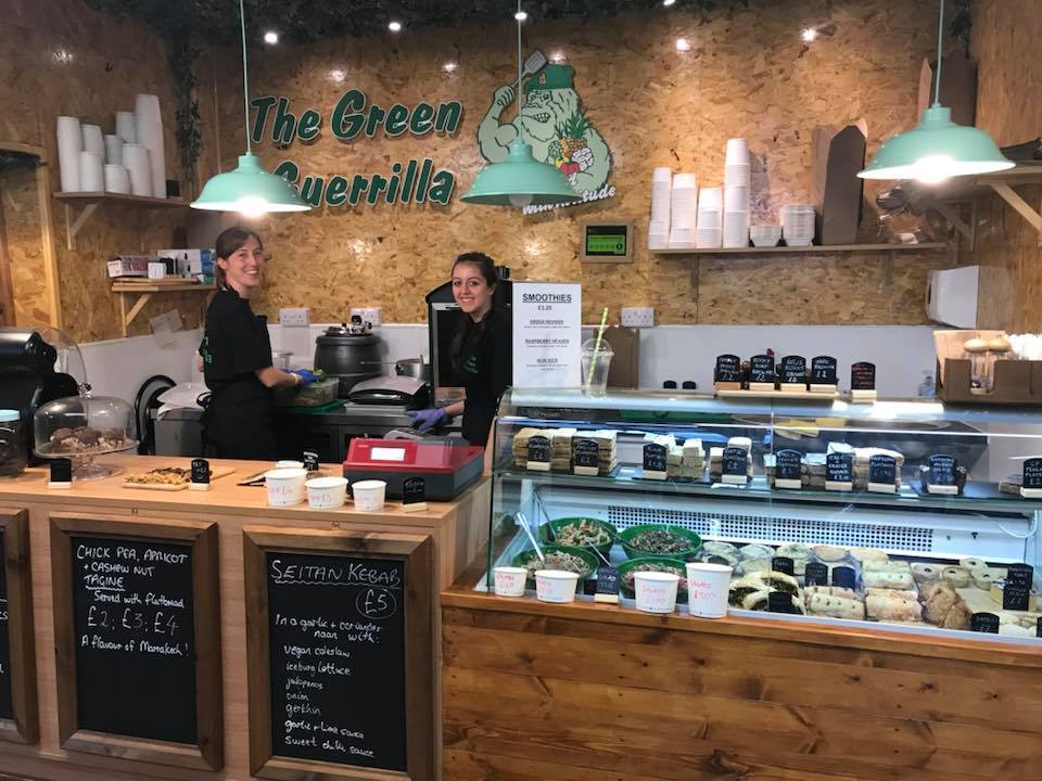 The Green Guerilla deli, Durham