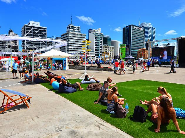 Auckland's waterfront, EITW