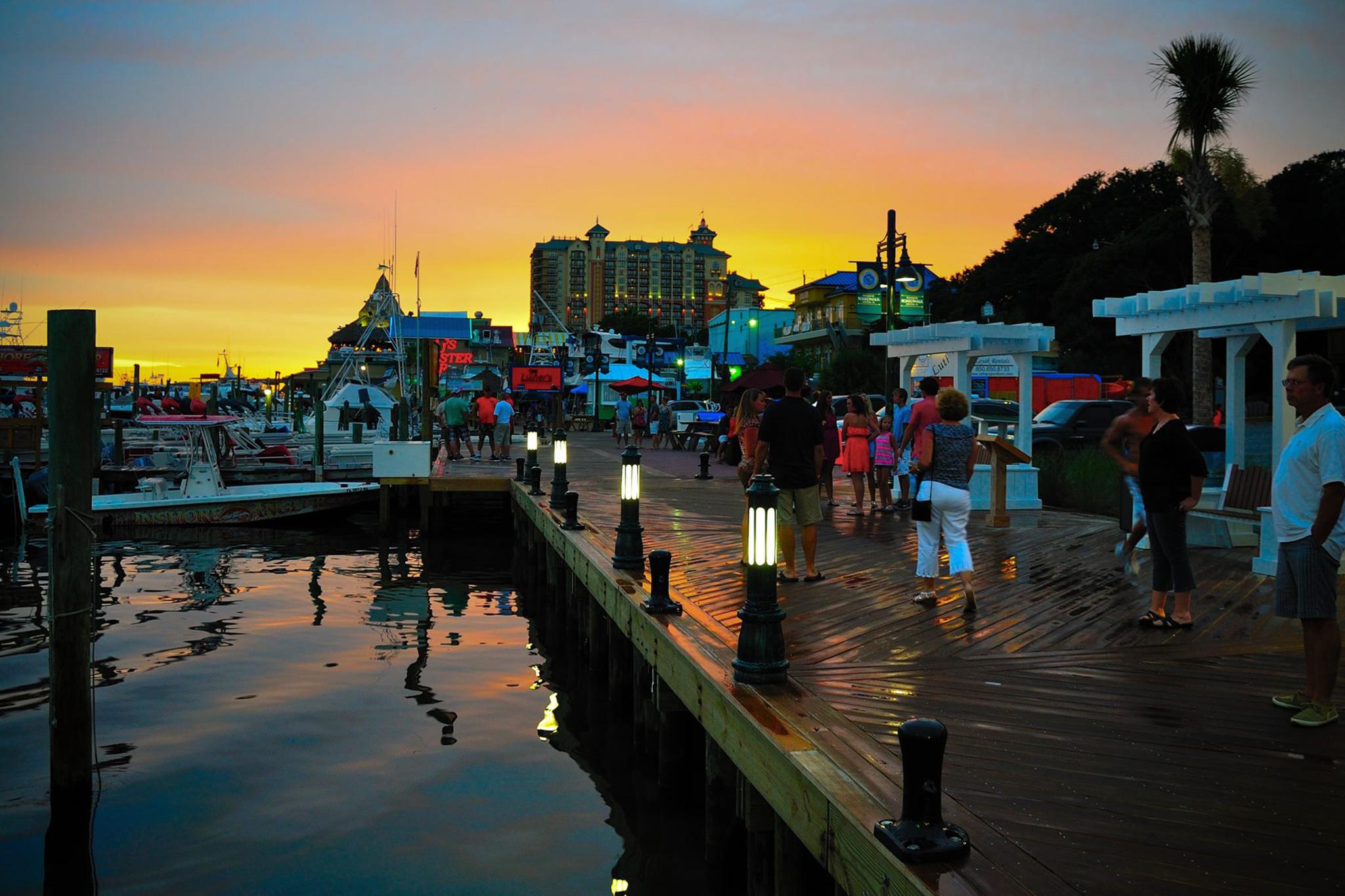 Destin Harbor Boardwalk, EITW
