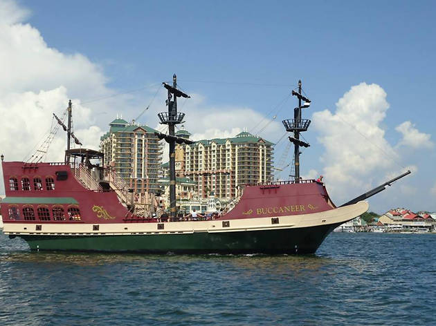 Buccaneer Pirate Cruise, EITW