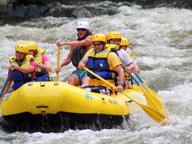 Pigeon River Rafting, EITW