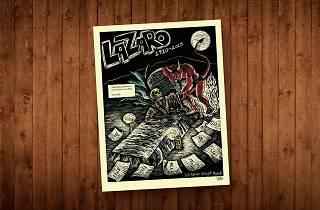 lázaro y los alzados, novela gráfica de Luis Alberto Villegas ville