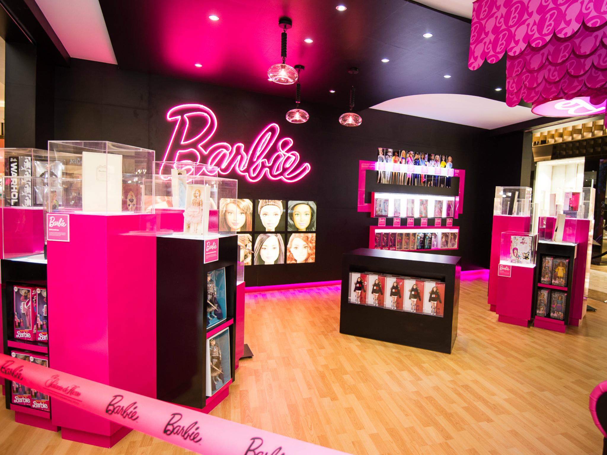 Barbie Pop-Up Store
