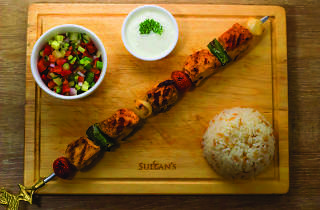 The Sultan's Table - chicken skewers