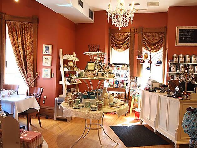 The Tea Room at Robinson-Bray House