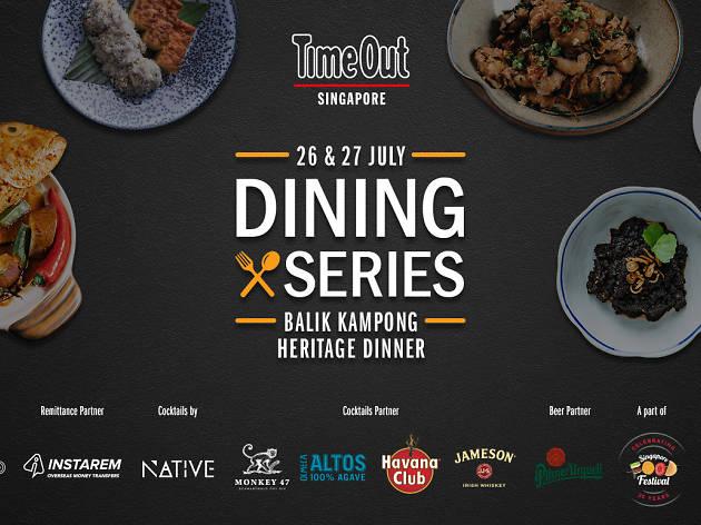 Balik Kampong Heritage Dinner