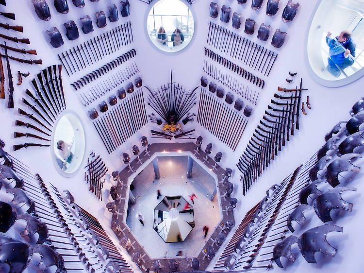 See the country's national collection of arms and armour at Royal Armouries