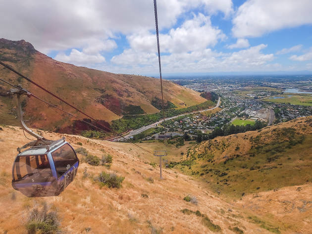 christchurch gondola, things to do in christchurch, new zealand