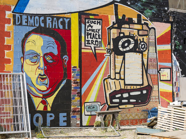 street art, things to do in christchurch, new zealand