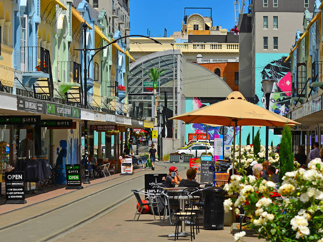 New Regent Street, things to do in Christchurch, New Zealand