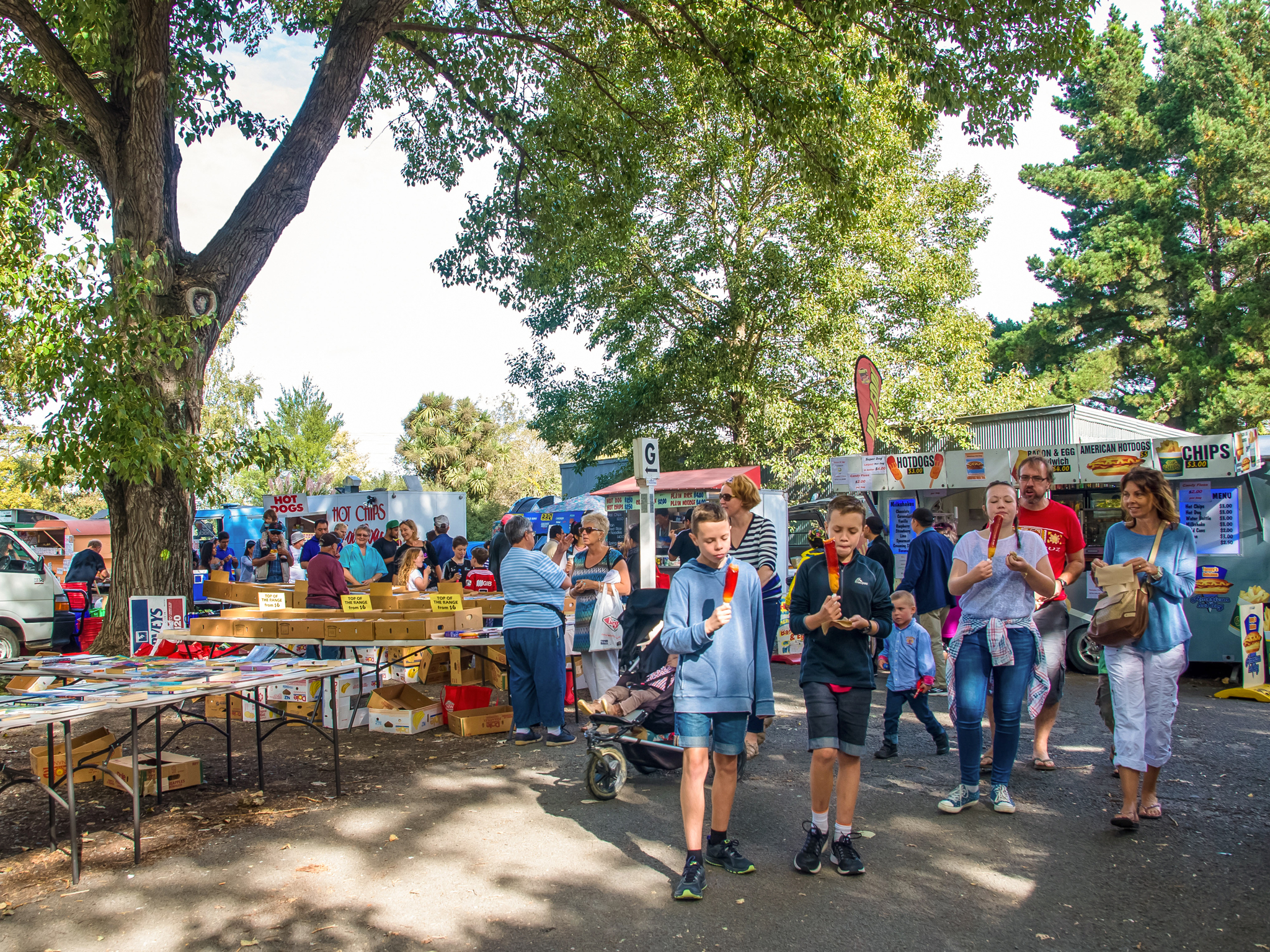 Riccarton Sunday Market, things to do in Christchurch, New Zealand