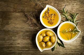 olive, oil, food